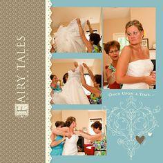 Bridal Scrapbook page ideas - Google Search