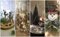 Zpříjemněte si prostředí svého domova a neutrácejte zbytečně stovky korun za vánoční dekorace. My Vám v dnešním článku ukážeme několik inspirací, které si můžete vytvořit z pohodlí domova.Něk… Christmas Crafts, Table Decorations, Furniture, Home Decor, Decoration Home, Room Decor, Home Furnishings, Home Interior Design, Dinner Table Decorations