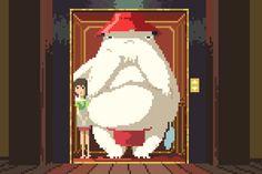 Un hommage en 8 bit aux meilleurs films de Miyazaki | The Creators Project