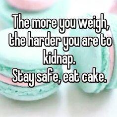 Stay sage, eat cake!
