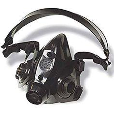 miller electricml00895 half mask respirator m/l single filter