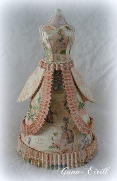 Gunn-Eirill`s Paper Magic: Dress for Cinderella