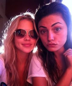 the vampire diaries clare holt  | Supernatural BFFs! Claire Holt and Phoebe Tonkin's Most Adorable ...