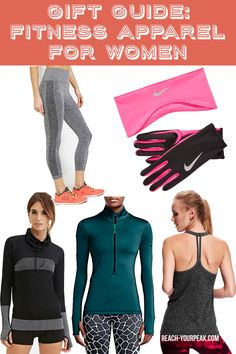 Holida Gift Guide: Fitness Apparel For Women
