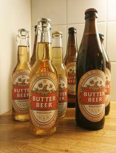 Kermakaljaa!  Liota pullon (limppari, kalja, siideri tms) alkuperäinen etiketti pois ja liimaa tilalle itse tulostettu kermakalja etiketti.