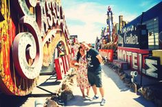 My photos from The Neon Museum, Las Vegas. Check out www.theworldandthensome.com for more information and photos!