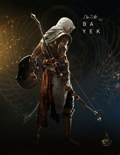 Best Assassins Creed since the Ezio Era! Assassin's Creed Origins - Bayek Back By Fabien Troncal The Assassin, Arte Assassins Creed, Assassins Creed Origins, Assassin's Creed Brotherhood, Fantasy Male, Assasins Cred, Illustration Fantasy, Assassin's Creed Wallpaper, Skyrim