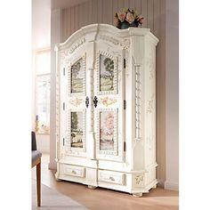 Premium Collection by Home affaire Schrank »Sophia« in weiß antik bemalt im Online Shop von Baur Versand