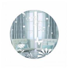 Okrúhle dekoračné zrkadlá s motýľmi Plates, Tableware, Home, Licence Plates, Dishes, Dinnerware, Griddles, Tablewares, Ad Home