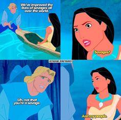 Pocahontas grandmother cunt