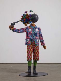 """Yinka Shonibare """"You've got to be a bit utopian to be an artist because it is not a very realistic occupation."""""""