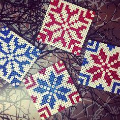 Coaster set hama beads by przepisyzpodrozy                                                                                                                                                                                 More