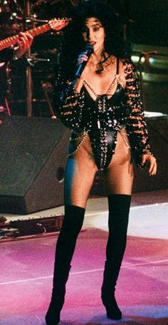 Happy 68th Birthday, Cher! See Her Signature Style Moments Here - 1992 - from InStyle.com