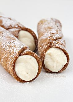 Goal - Italian Pastries Pastas and Cheeses Cannoli Shells Recipe Easy, Cannoli Cookies Recipe, Cannoli Cupcake, Cannoli Filling, Cannoli Cream, Easy Cookie Recipes, Sweet Recipes, Christmas Cake Recipe Traditional, Brunch