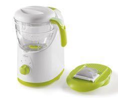 Chicco Easy Meal - Robot de cocina que ralla, cocina al vapor, tritura, descongela y calienta: Amazon.es: Bebé Baby Cooking, Rice Cooker, Kettle, Easy Meals, Kitchen Appliances, Unique, Products, Green, White People