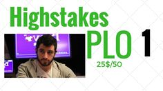 Phil Galfond PLO 25$/50 PLO High Stakes Antes - Phil Galfond training poker onine part1 https://youtu.be/wJasIa_LrmU