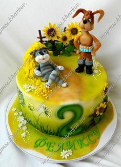 Торт Простоквашино - Вкусный и красивый эксклюзивный торт в Харькове