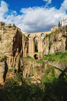 The city 'split apart by the gods', Ronda is as dramatic as it sounds. Set atop a hill and seperated by a deep gorge, you'll be hard-pressed to find a more dramatic city when you're in Spain.