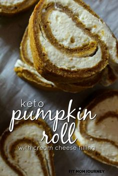 Keto Pumpkin Roll: A Pumpkin Cake Roll with Cream Cheese filling was delicious and a fall staple around our house – until we went Keto. I modified my recipe to make a Keto Pumpkin Roll with Cream Cheese filling and I know you're going to love it! Pumpkin Recipes, My Recipes, Low Carb Recipes, Dessert Recipes, Pumpkin Foods, Dessert Ideas, Summer Recipes, Italian Recipes, Low Carb Sweets