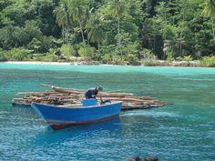 Bawah island, Anambas, Indonesia