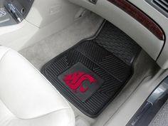 "Washington State 2-pc Vinyl Car Mats 17""x27"""