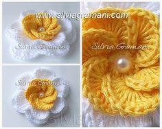 Silvia Gramani Crochê: Flor de Crochê