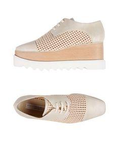 STELLA McCARTNEY Women's Lace-up shoe Ivory 9 US