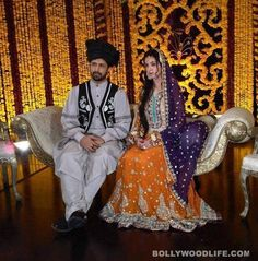 Pre Wedding Mehndi of popular Singer Atif Aslam and long time GF Sara Bharwana, end March, 2013, Lahore