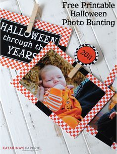 Cupcake Wishes & Birthday Dreams: {13 Days of Handmade Halloween} Halloween Photo Bu...