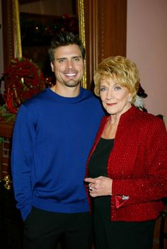 Joshua Morrow & Jeanne .. Young And The Restless....have been in love with this show since i can remember! RIP Mrs. Cooper