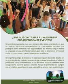 ¿Por qué contratar a una empresa organizadora de eventos? #organizadoreseventos #ilafusta