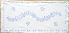 Hungarian Kalocsa Doily Pattern DIY New 34 3 4''x16'' for Embroidery Runner | eBay