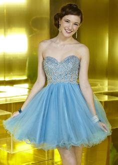 Alyce Paris 3570 – Sequined Sweetheart Neckline Lace Up Back Beaded Homecoming Dress