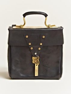 Munoz Vrandecic women's Leather Letter Bag from S/S 12 collection