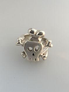Skull/cook 925 silver ring 1/1 Alquimist art 2015