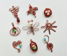 Wire jewelries are fun to make! Even few months back I didn't think of making jewelries by myself, but now I've become a mad wire jewelry crafter! I was searching online for wire jewelry tutorials and found out so many. The funny thing is, once you start making them you'll come up with tons of ideas automatically! I made ten easy wire pendants in one hour. You can always search the internet for pretty designs. In this instructable I will show you how to make all of these pendants as simply…