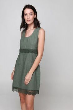 PLS fashion : Φόρεμα λινό με δαντέλα (845) Linen Dresses, Summer Dresses, Fashion, Moda, Summer Sundresses, Fashion Styles, Fashion Illustrations, Summer Clothing, Summertime Outfits