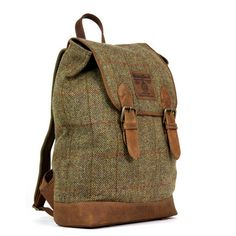A great backpack for the fall. Highland Harris Tweed Rucksack