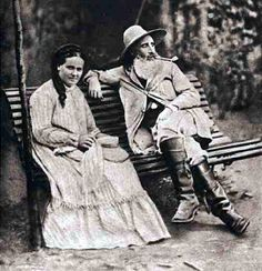 Camille Pissarro and wife