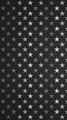 Stars Pattern Black And White #iPhone #5s #Wallpaper