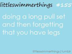 I pull more than i kick, but i have more leg muscle... it makes no sense