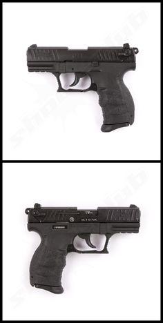 Walther P22Q Schreckschusspistole Kaliber 9mm  #shootclub #schreckschuss #Pistol #ammunition #p22q
