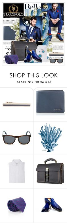 """""""Tucci Polo 27"""" by ane-twist ❤ liked on Polyvore featuring BOSS Black, Diesel, Wedgwood, Brunello Cucinelli, Brioni and New Growth Designs"""