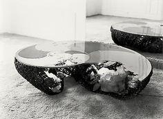 Maria Pergay - Ammonite Table, 1977