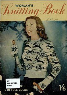 Ravelry: Snowflake pattern by Woman's Knitting Book Beginner Knitting Patterns, Knitting For Beginners, Knitting Projects, Crochet Cape, Hand Crochet, Knit Crochet, Baby Patterns, Vintage Patterns, Crochet Patterns