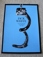 Jack White Poster - Cains Ballroom, Tulsa - Alan Hynes