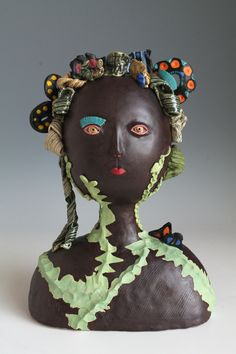 A bolg about ceramic sculptures and Japanese ceramics. Balloon Flowers, Pink Flowers, Butterfly House, Create Words, On October 3rd, Japanese Ceramics, Lily Of The Valley, Beautiful Butterflies, Clay Art