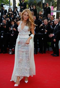 C'est Cannes! - Blake Lively in Chanel