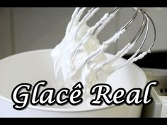 Como Fazer Glacê Real (por Fernando Couto) - YouTube