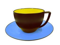 Waechtersbach Duo Cups  Saucers CurryAzur Set of 4 ** Be sure to check out this awesome product.